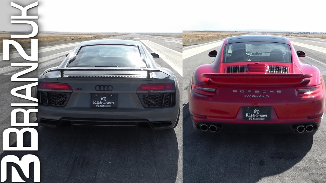Half-Mile Dig Racing – Audi R8 vs. Porsche 991