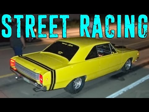 Roll and Dig Racing On the Missouri Streets