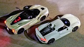 $3-Million Street Race – Porsche vs Ferrari