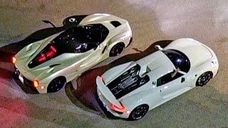 $3-Million Street Race – Porsche vs Ferrari