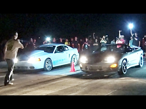 Street Racing Compilation – Roll and Dig