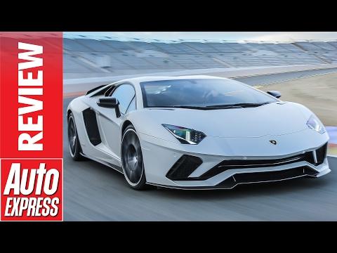 Track Testing the New Lamborghini Aventador S