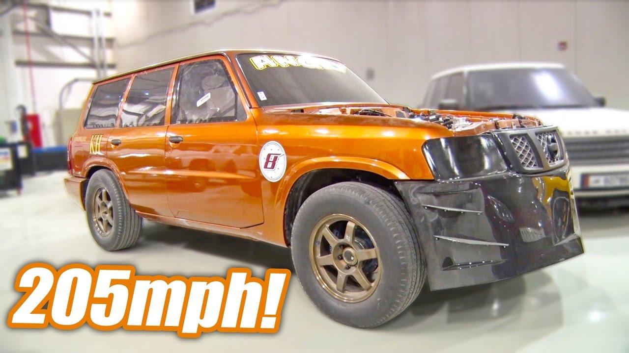 Angry Nissan SUV – 206 MPH Half-Mile