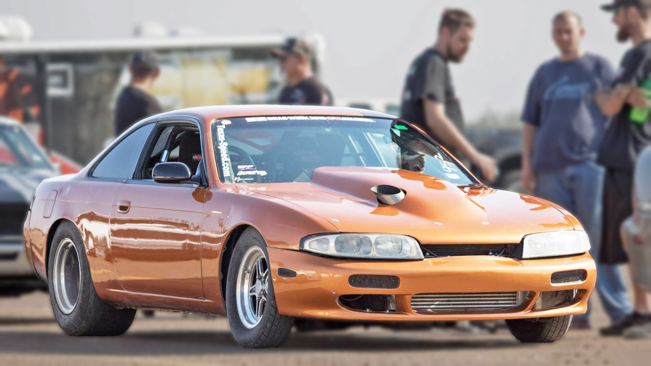 No Prep Turbo V8 Nissan 240sx