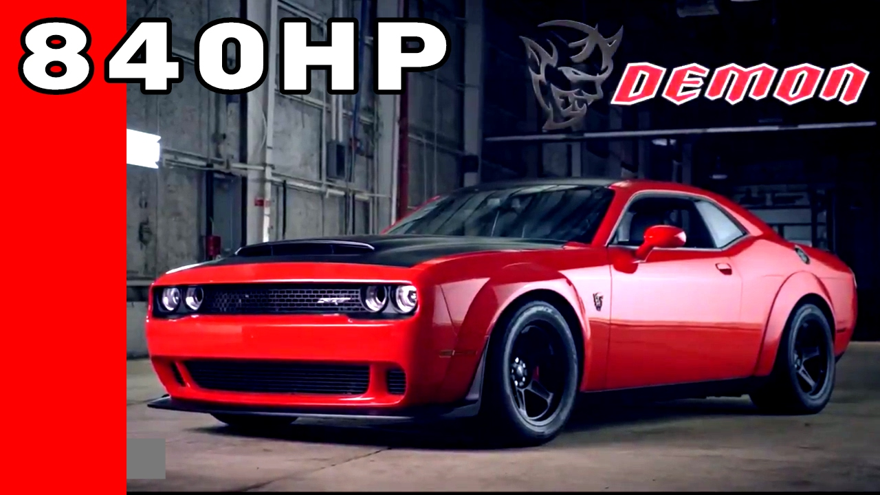 840hp dodge demon test hit drag racing fast cars muscle cars blog. Black Bedroom Furniture Sets. Home Design Ideas