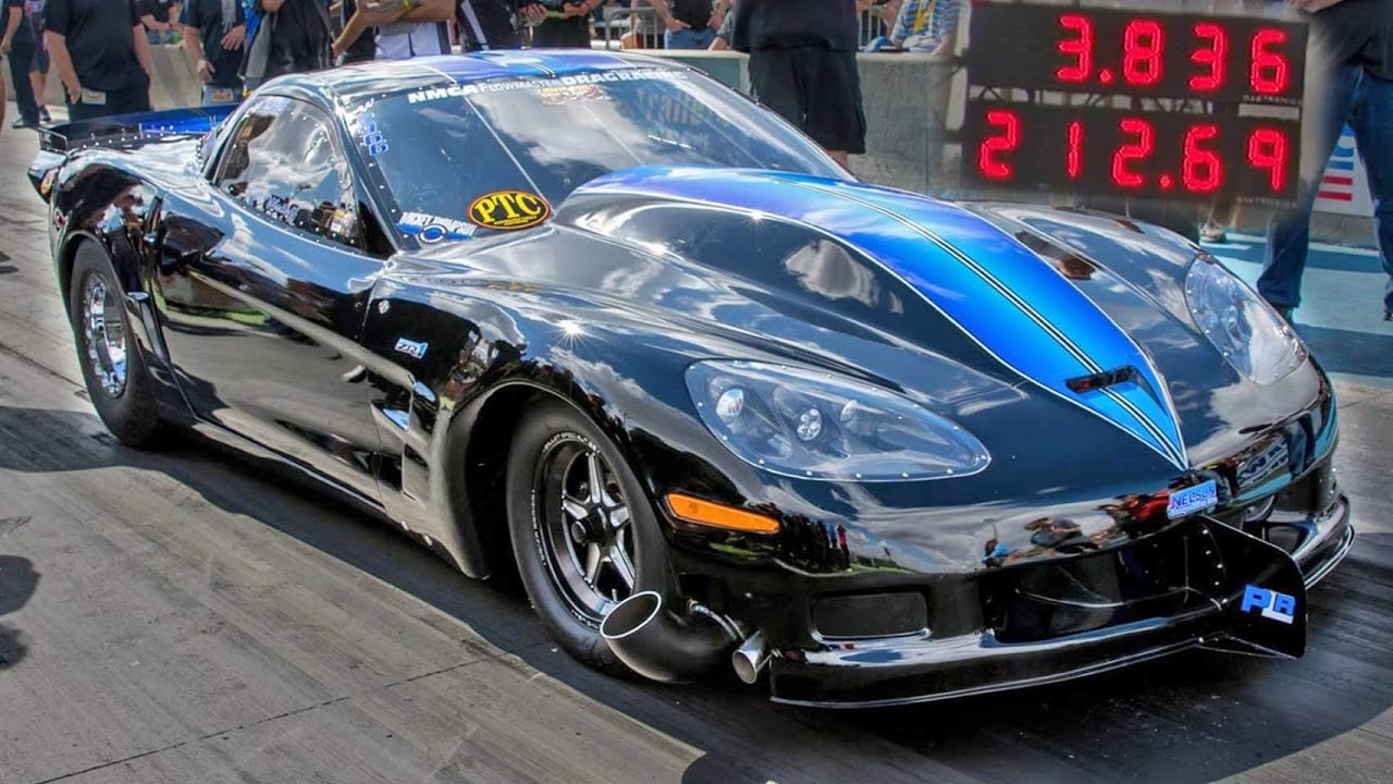 Twin Turbo Corvette – 212 MPH in Eighth-Mile | DragTimes.com Drag ...