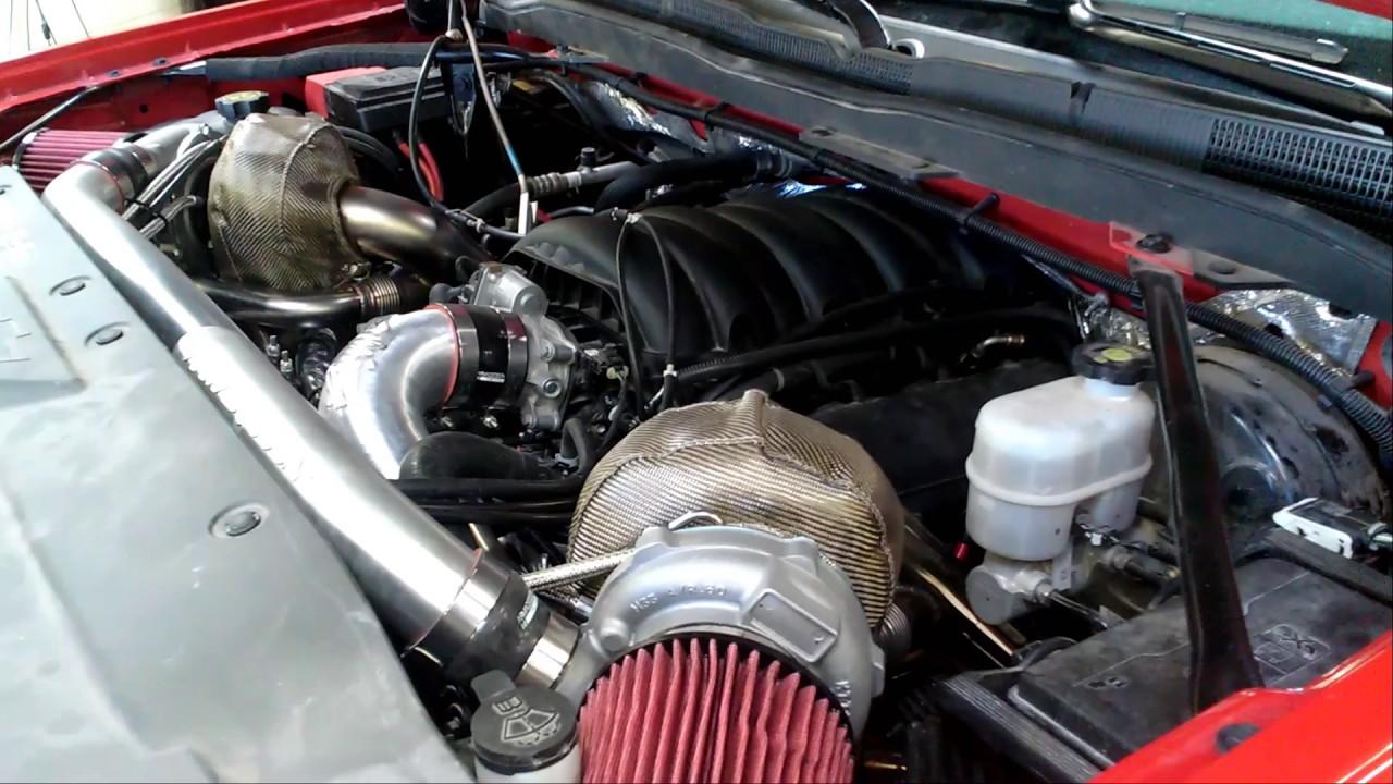 Cowboy Corvette – 650HP Silverado