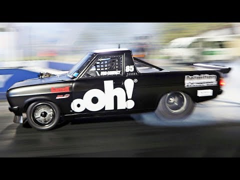 Low 7-Second Datsun Pickup