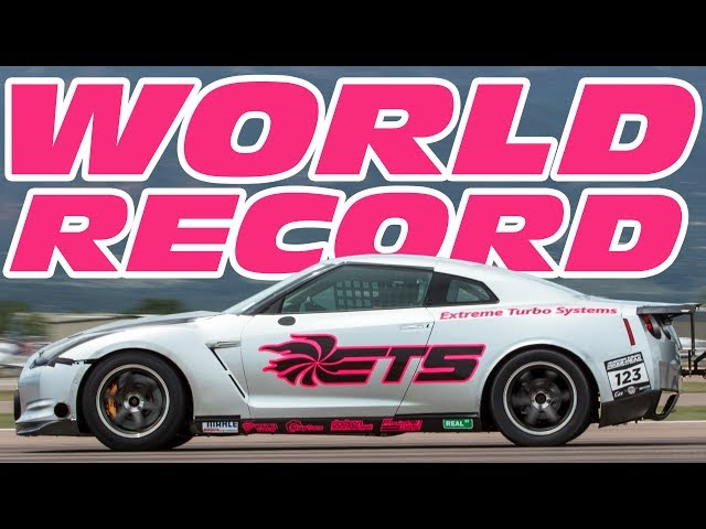 New Half-Mile GT-R Top Speed Record