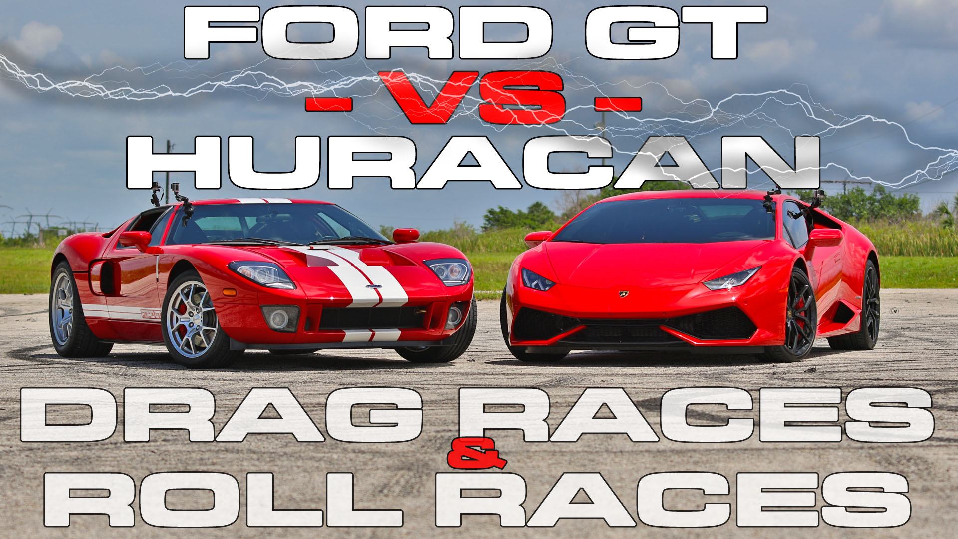 Muscle Car Vs Sports Car. Cool Before We Watch The Race Letus See ...