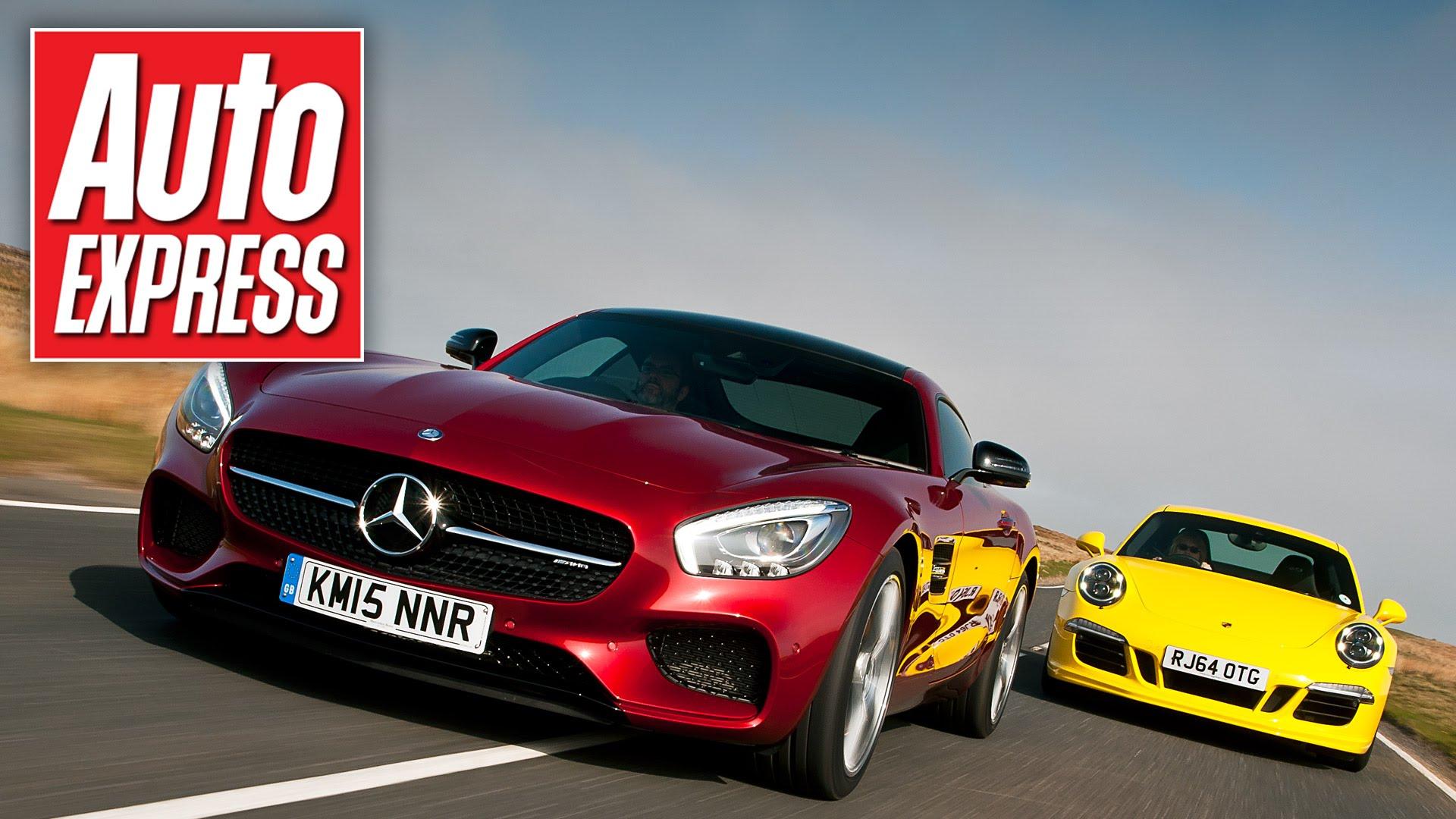 Battle for Germany – Mercedes-Benz vs. Porsche | DragTimes.com Drag ...