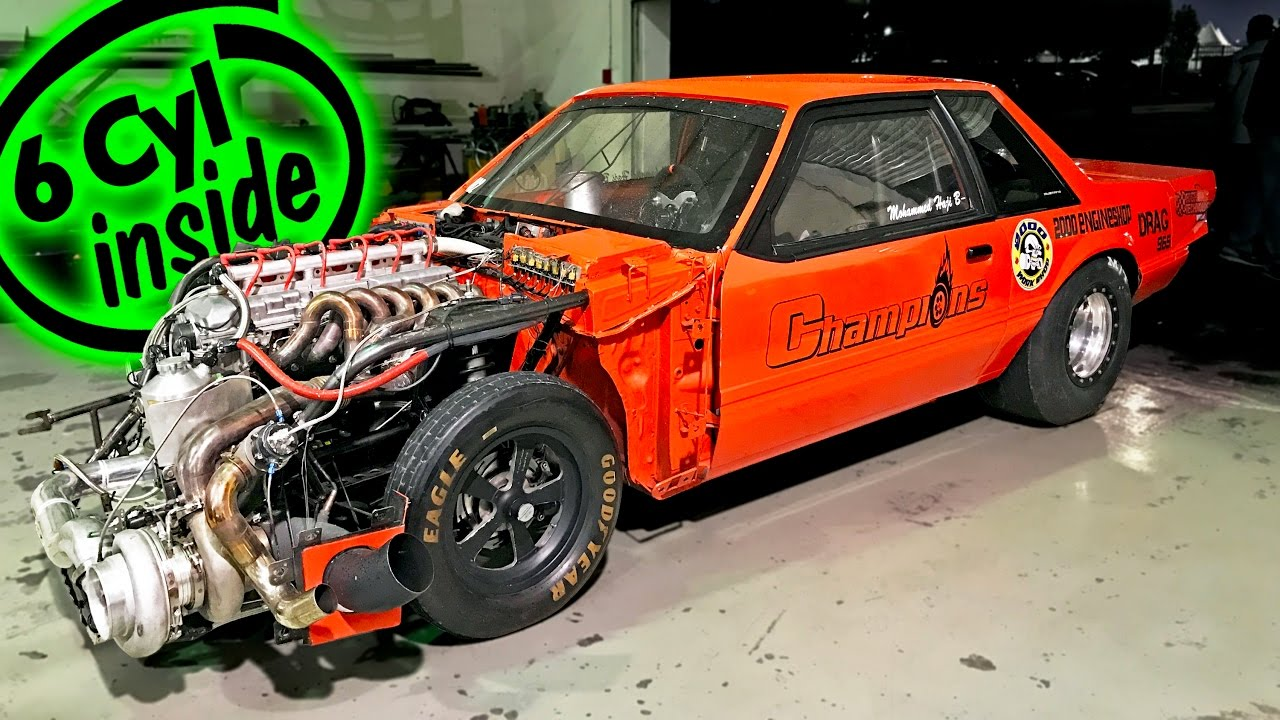 Crazy Fast Inline 6-Cylinder Ford Mustang