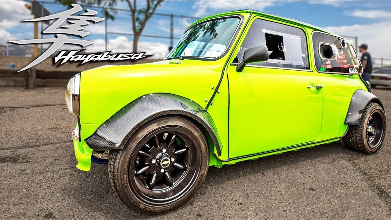 Hayabusa Powered Mini – Street Hits | DragTimes.com Drag Racing ...