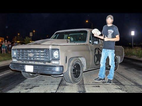 Square-Nose Chevy C10 Dominates Cash Days