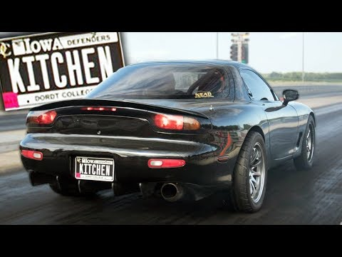 The Kitchen LS RX7 Tames the Track