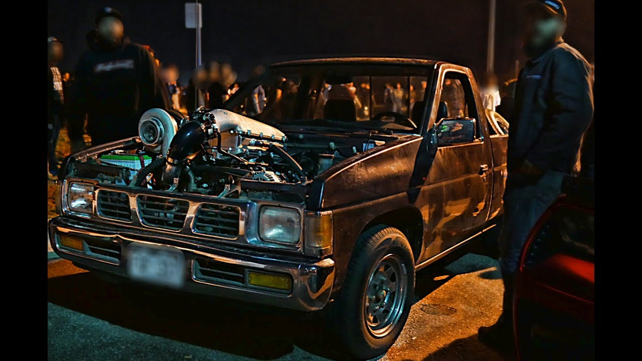 Turbo LS Nissan Hardbody – Street Racing