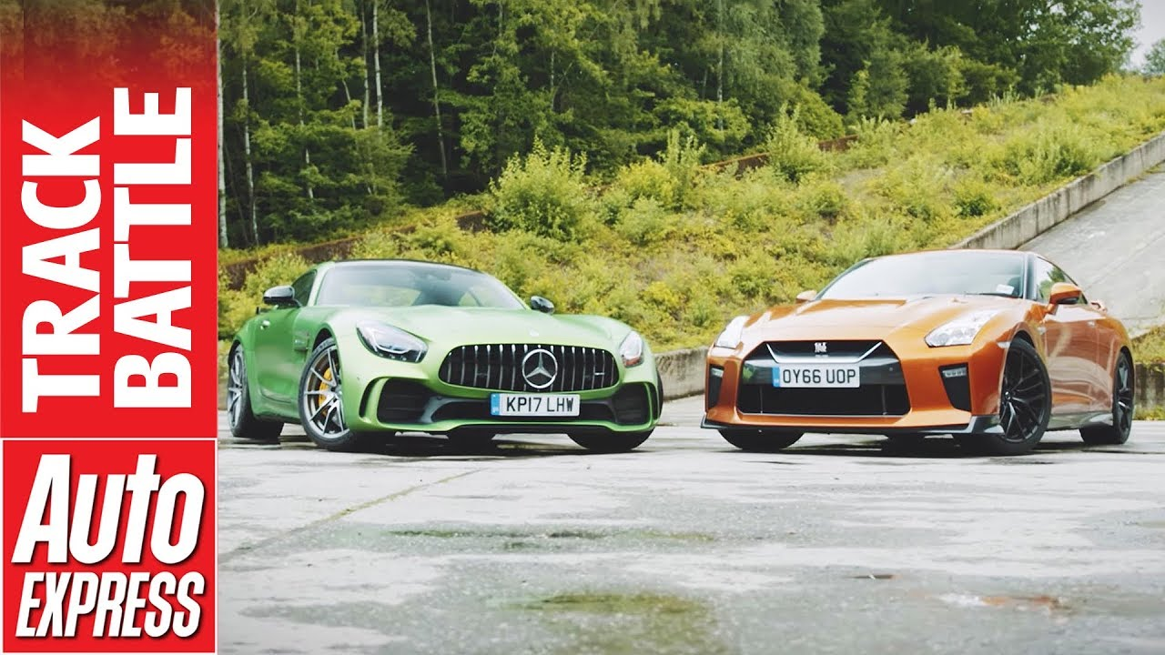 Track Tested – Nissan GT-R vs. Mercedes-Benz AMG GT R