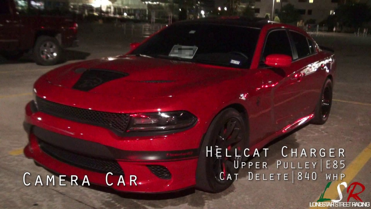 840HP Charger Hellcat – Street Rolls