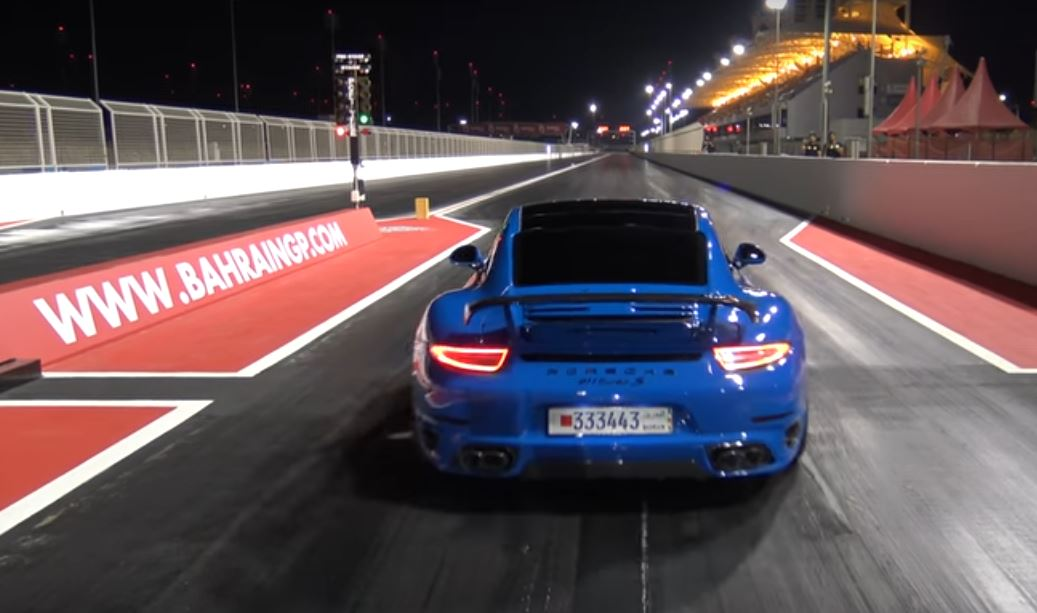 Porsche 991 Turbo S Quarter-Mile Record