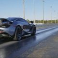 McLaren 720S runs 9.7 in the 1/4 Mile