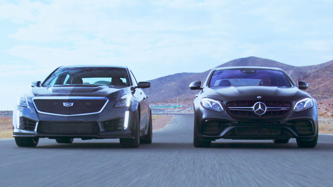 Sedan Showdown – Mercedes-Benz AMG E63 S vs. Cadillac CTS-V
