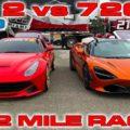 Ferrari F12 vs McLaren 720S