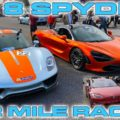 Porsche 918 Spyder vs McLaren 720S and Tesla P100D