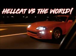 Charger Hellcat vs C6 Z06 Corvette – Street Hits