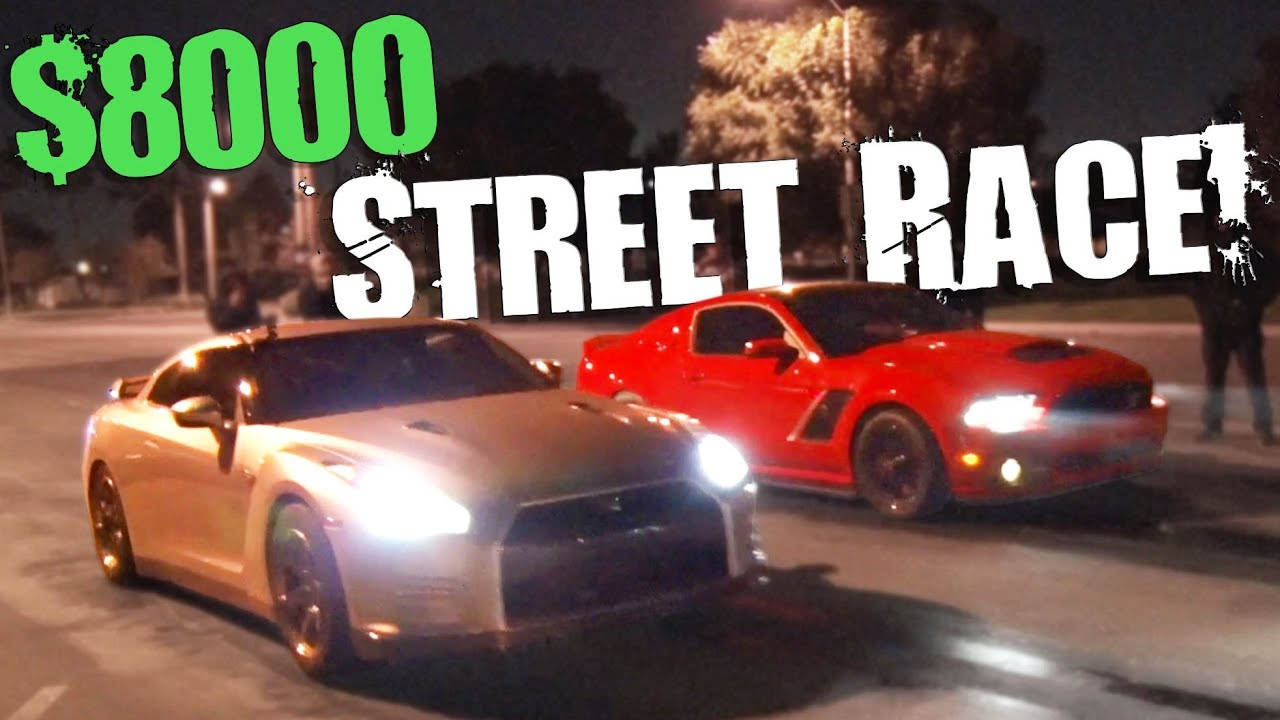 GT-R vs. Mustang – $8K Street Digs