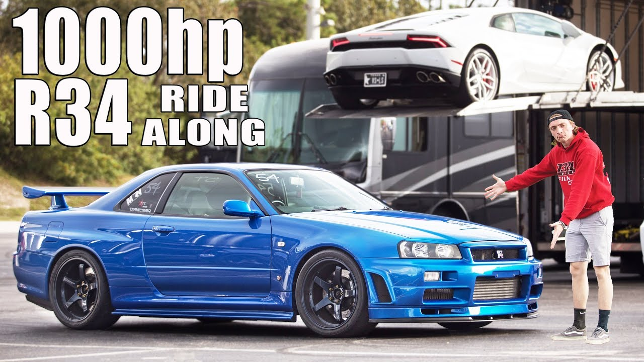 Ride Along – 1000HP R34 Nissan GT-R