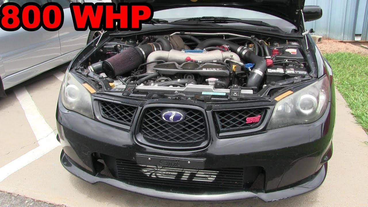 800whp Subaru WRX – Ride Along Street Hits