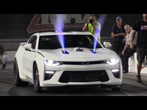 9-Second Camaro – Dual Power Adders