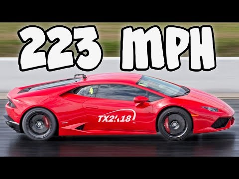 TX2K18 – 220+MPH Quarter-Mile Rolls