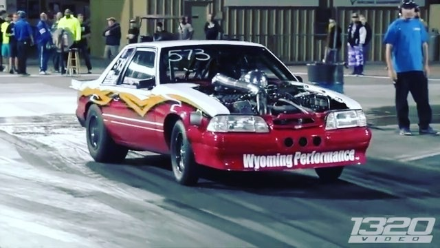 The King 2000hp Fox Body Mustang Dragtimes Com Drag Racing Fast