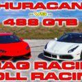 Ferrari 488 vs Lamborghini Huracan