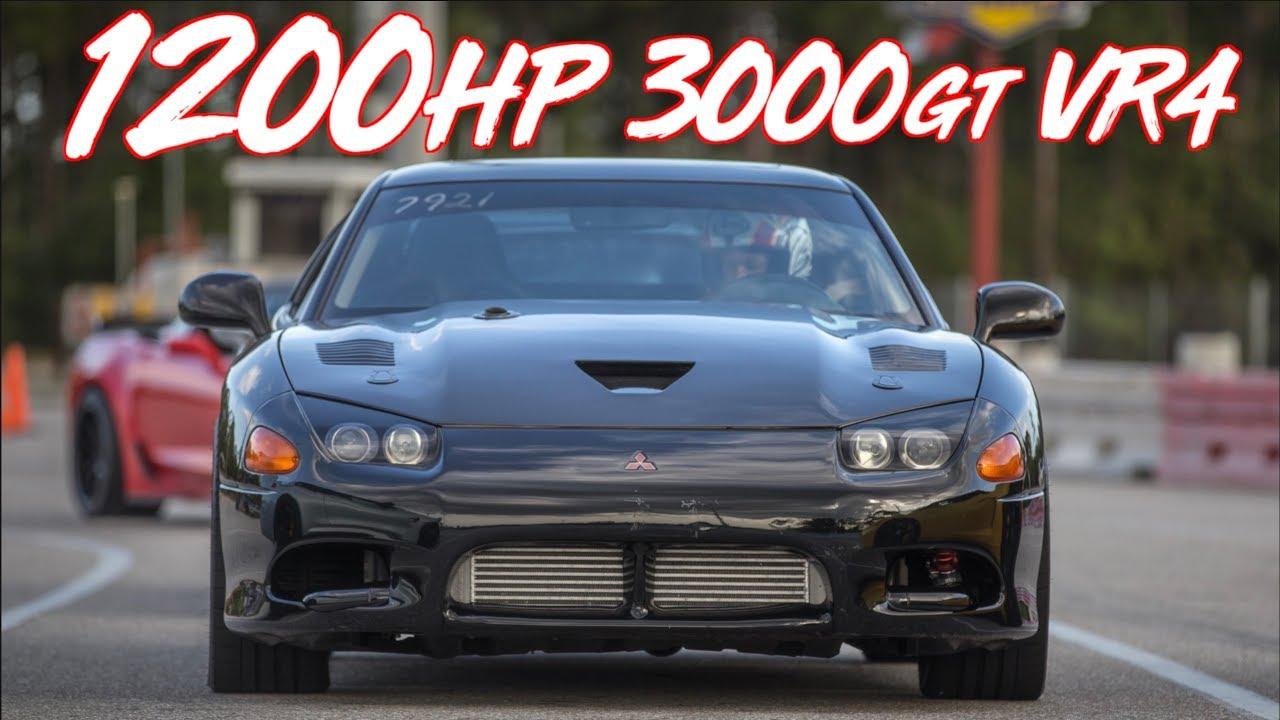1200HP Mitsubishi 3000GT VR4