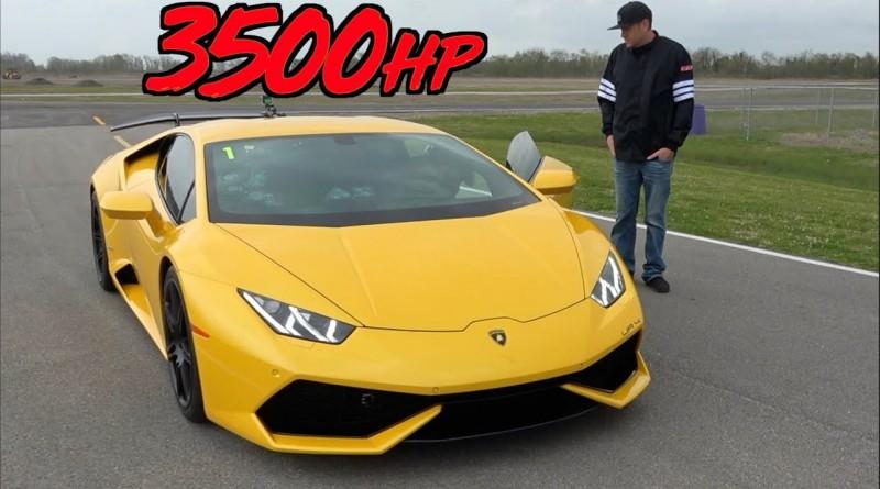 3500HP UR Lamborghini – 229 MPH