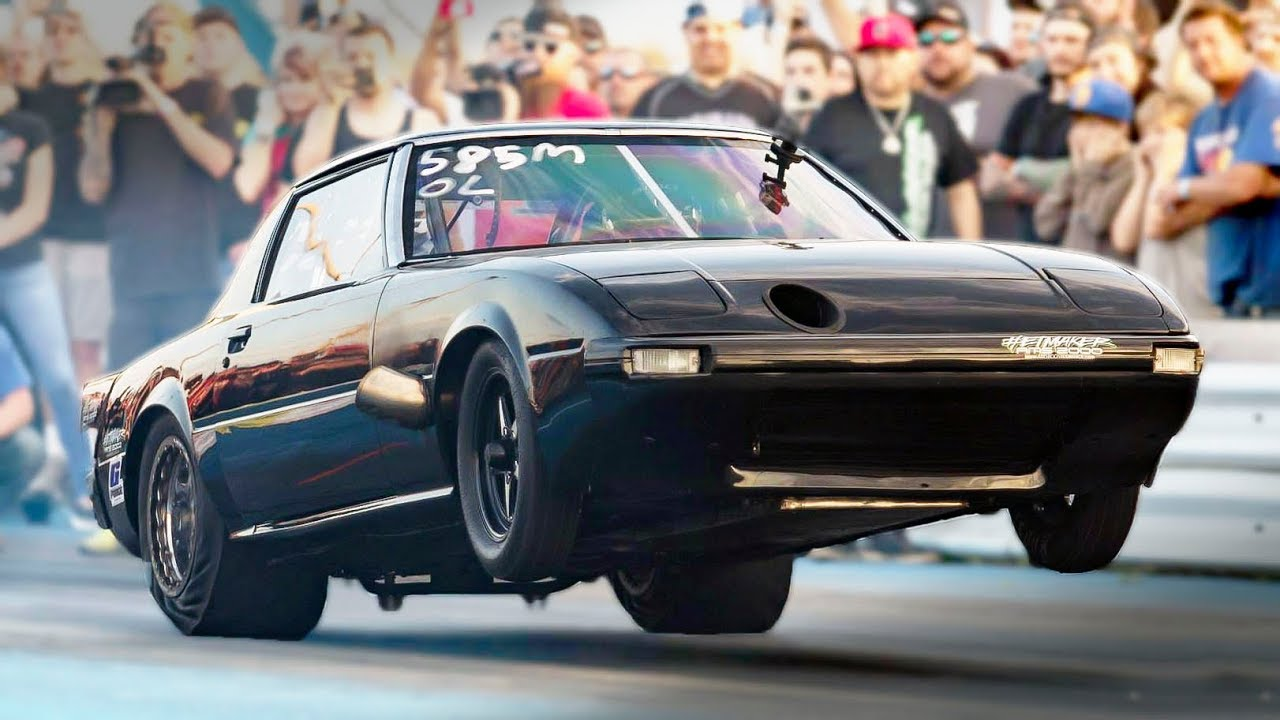 7-Second Rotary Powered Mazda RX-7