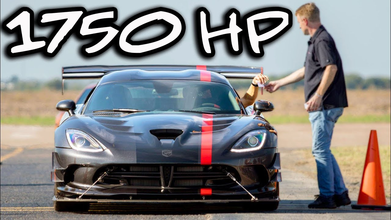 Beware of Snakes – 200 MPH Viper ACR