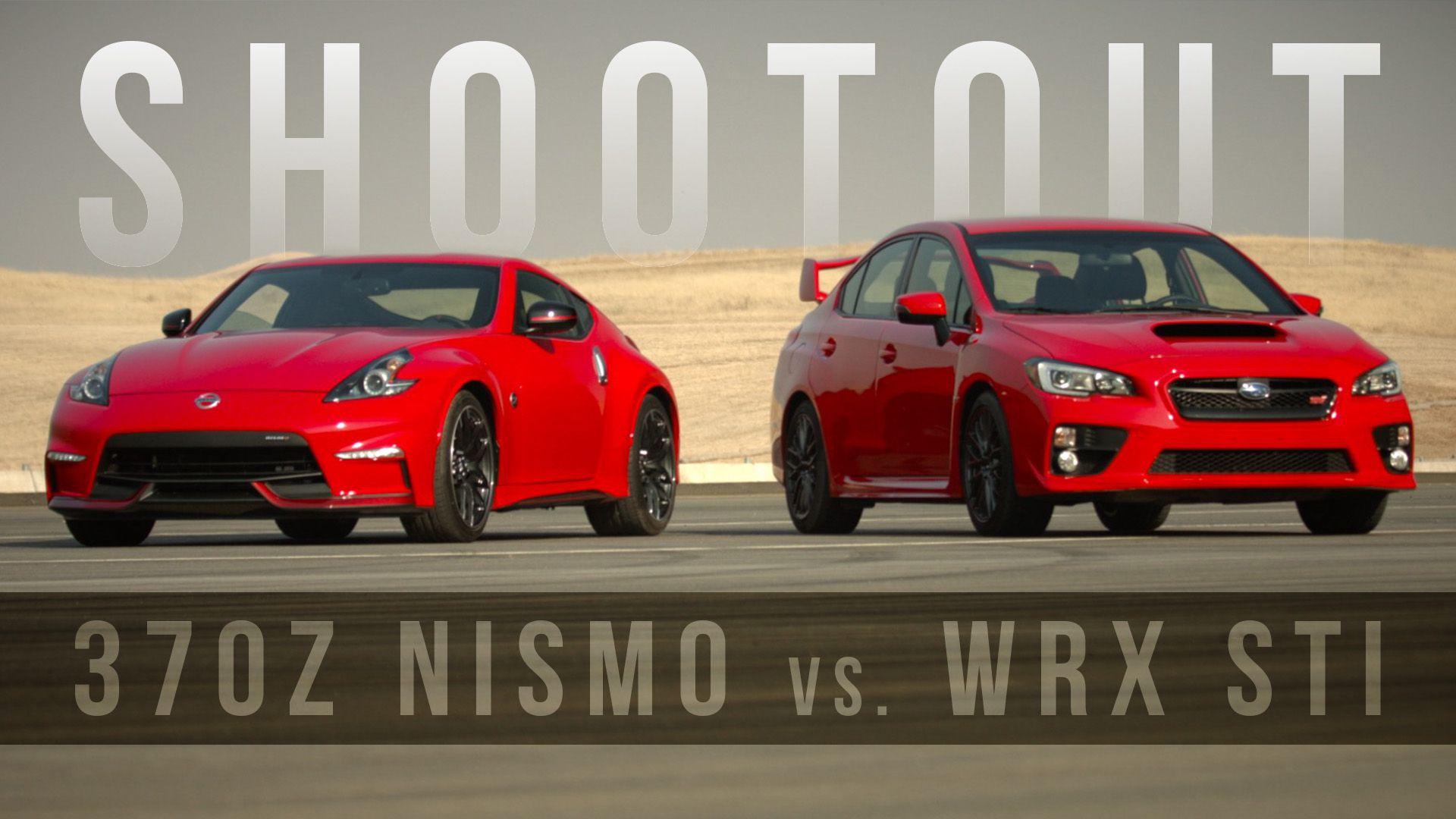 Nissan 370Z Nismo vs. Subaru WRX STI – Track Test