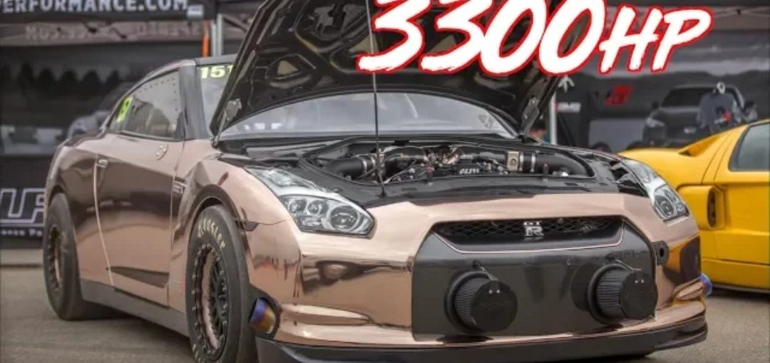 World's Baddest GT-R – 3000HP