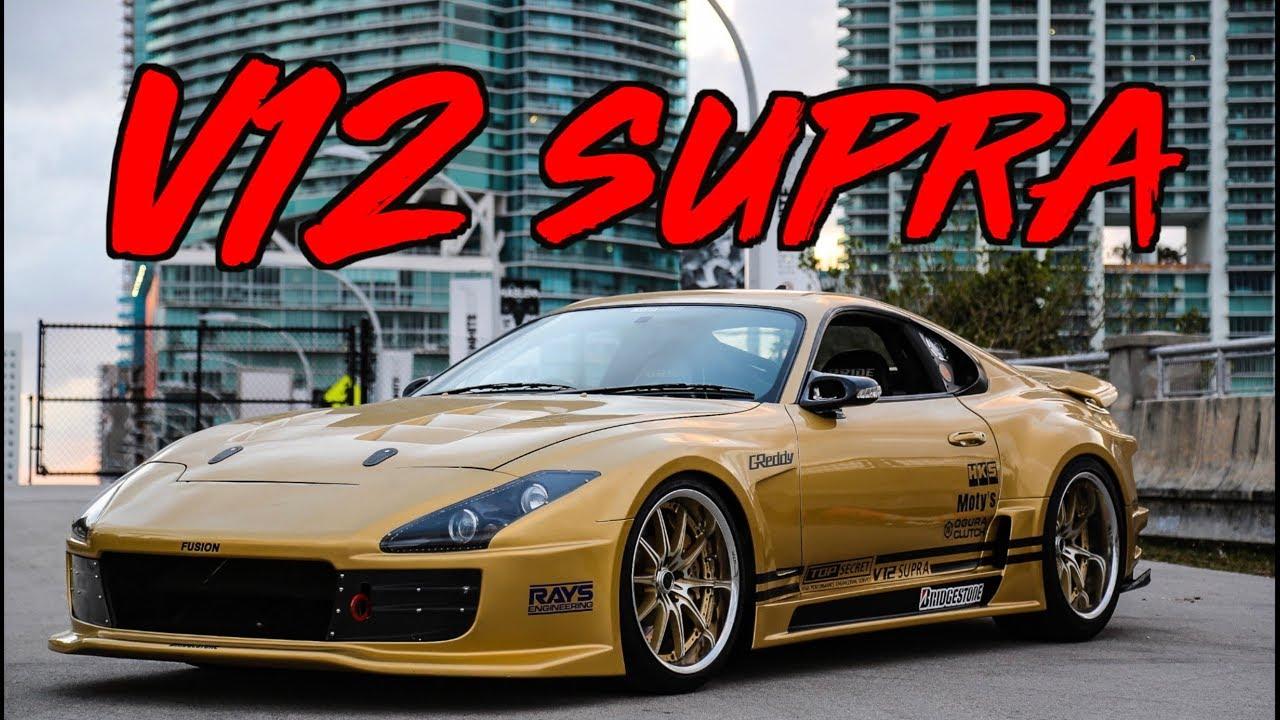249 MPH V12 Toyota Supra