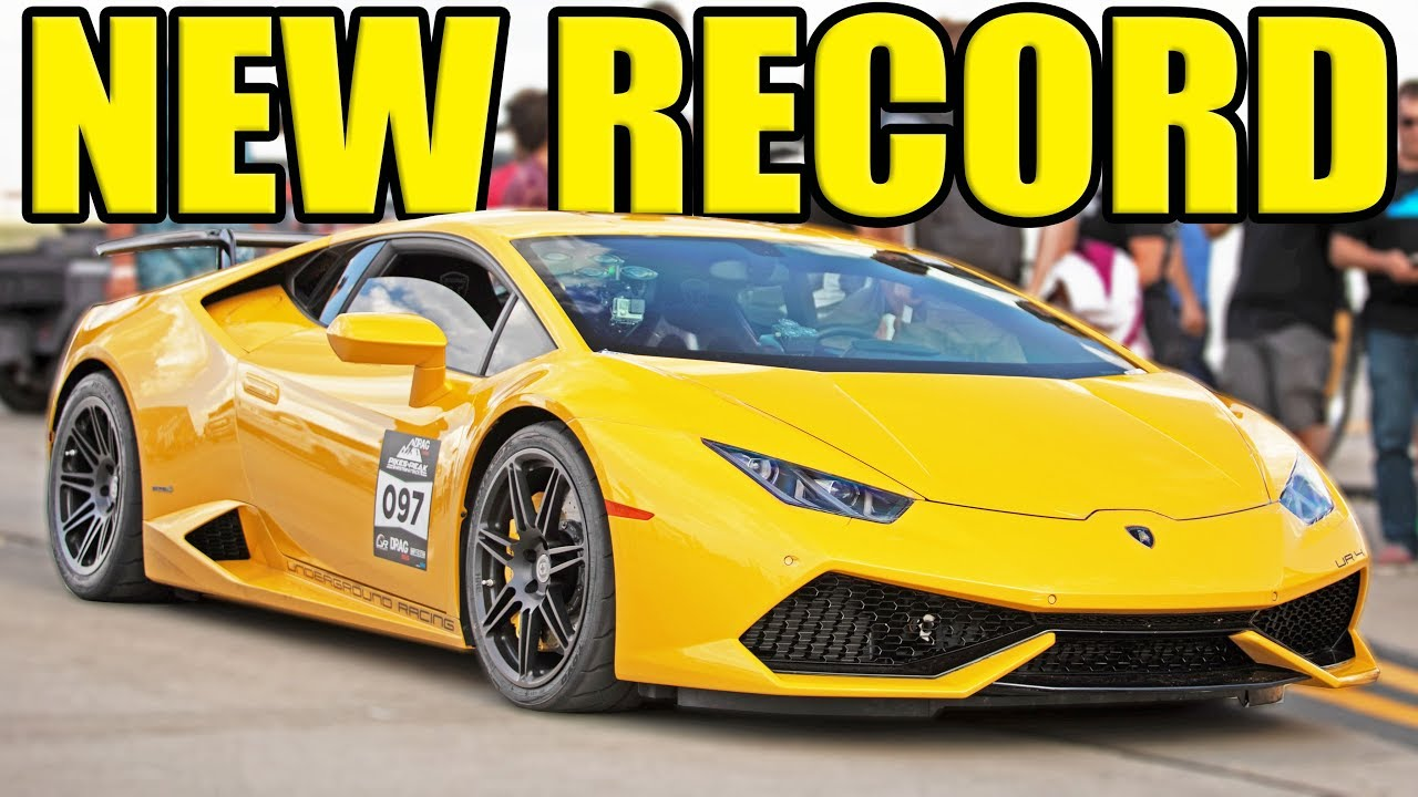 259 MPH Lamborghini – World's Fastest Half-Mile