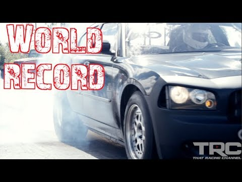 World Record – 8-Second Charger SRT