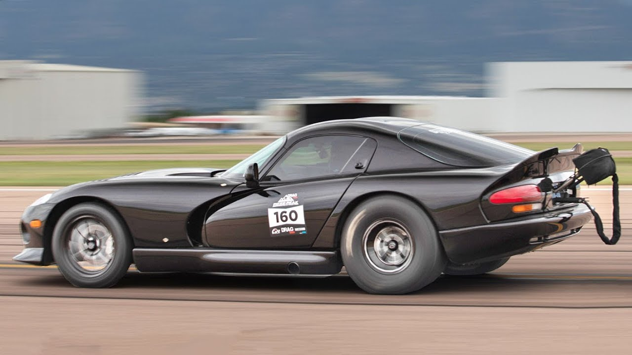 World Record Rear-Wheel Drive Viper