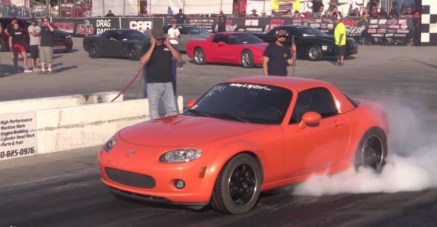 9-Second V8 Turbo Mazda Miata | DragTimes com Drag Racing, Fast Cars