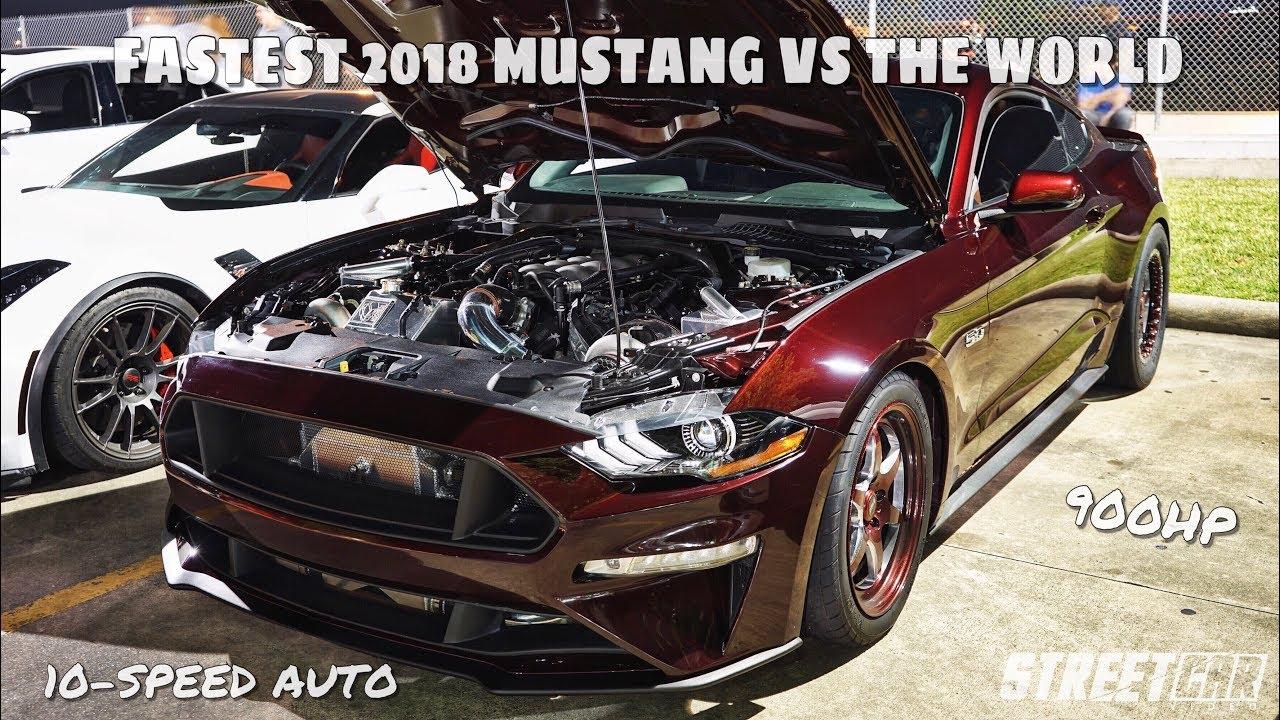Fastest 2018 Mustang – Taking it to the Street