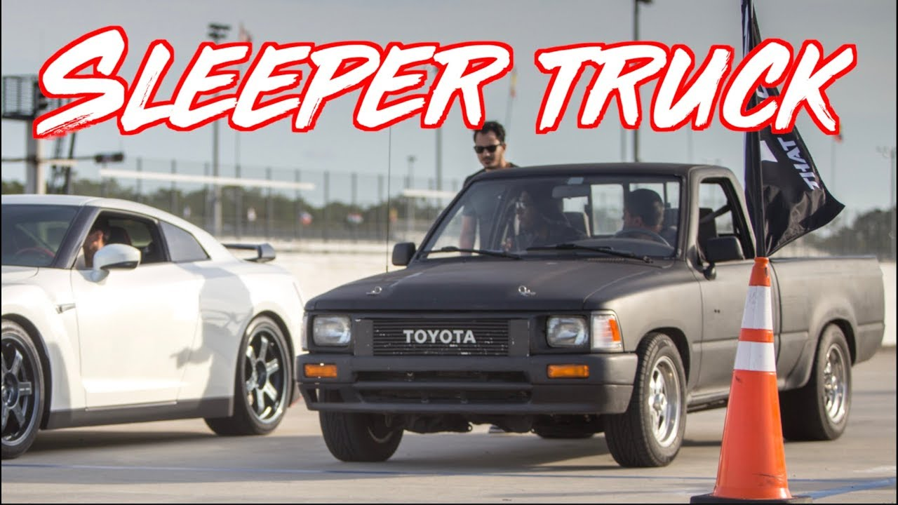 Toyota Shop Truck Spanks Exotics