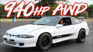 940HP AWD Eagle Talon – Ride Along