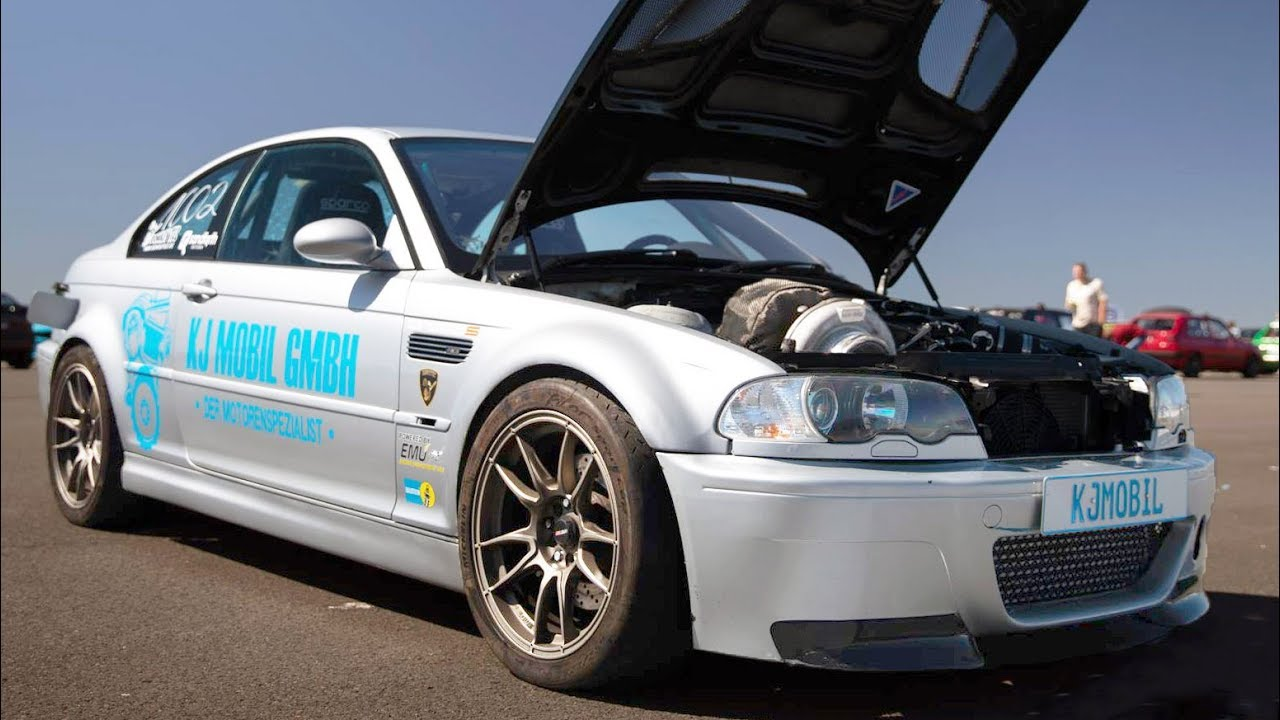 975HP BMW – 175 MPH Half-Mile
